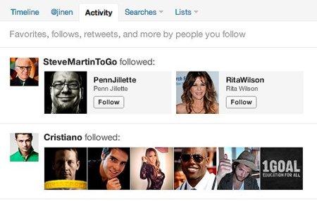 """Twitter introduce una pestaña """"Actividad"""" que recopila toda la actividad reciente"""