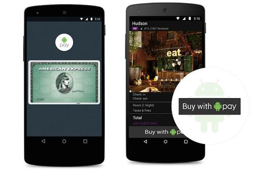 Android Pay, los pagos a través del móvil de Google llegarán con Android M
