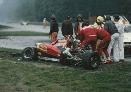Pironi Accidente Ferrari 1982