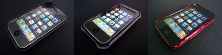 3 fundas rígidas para el iPhone 3G