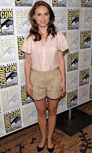 Los mejores looks de famosas en la Comic Con. Natalie Portman