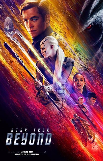 Foto de Carteles 'Star Trek: más allá' (2/12)