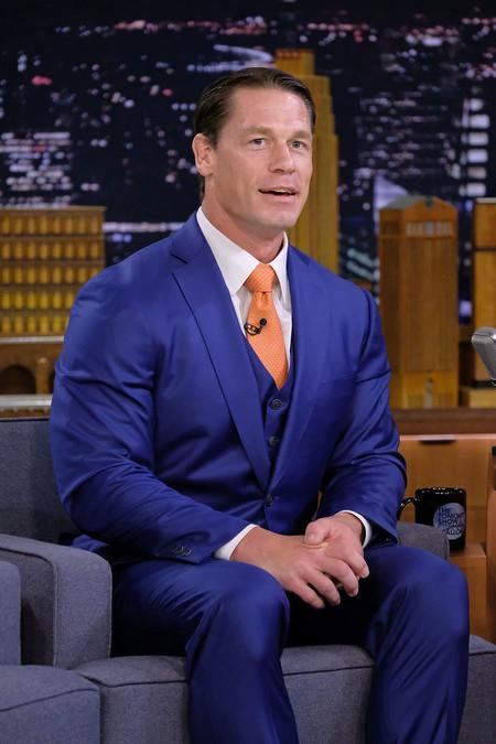 John Cena Looks Premiere Bumblebee Red Carpet Inspiation Suit 02