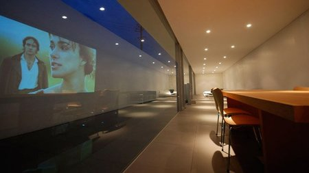 casas que inspiran - minimalismo en Japón - salón