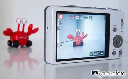 Panasonic Lumix DMC-SZ7 detalle pantalla