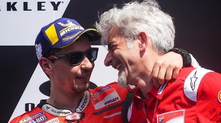 Lorenzo Dall Igna Motogp Ducati