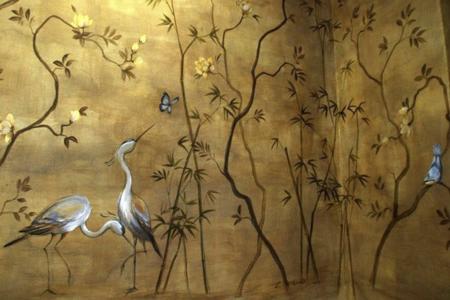 Garzas Salon Cugat Carol Moreno Pintora Artistica