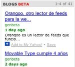 Yahoo! busca en los blogs