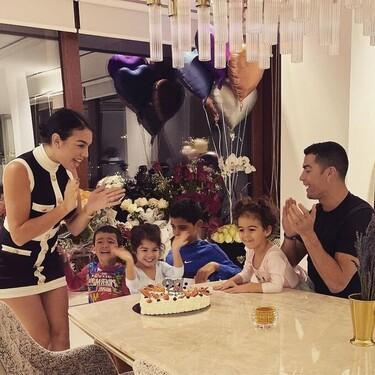 El cumpleaños de la polémica: Georgina Rodríguez y Cristiano Ronaldo pueden acabar multados por culpa de este vídeo