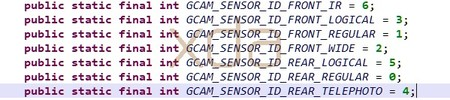 Código de Google Camera en Android Q