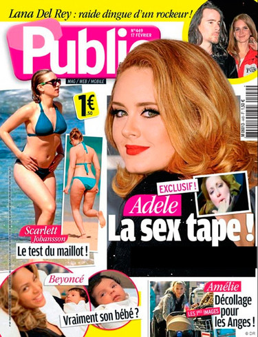 Adele, del desamor a la sex tape y tiro porque me toca