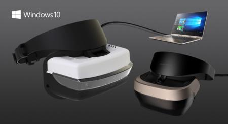 Gafas VR a partir de 299 dólares para Windows 10: así entra Microsoft en la realidad virtual