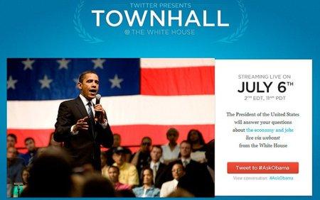 Obama organizará una sesión de preguntas y respuestas vía Twitter
