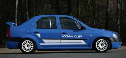 Dacia Logan Cup, el low cost también para competición