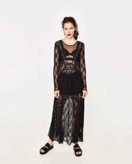 d3bf24ed6e11 11 vestidos negros de Zara para ahora y siempre