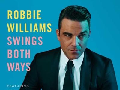 Robbie Williams vuelve al swing y a las versiones con Swings Both Ways