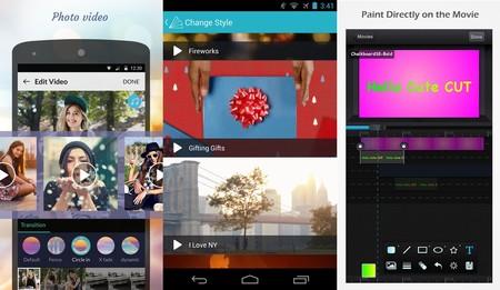 Las trece mejores aplicaciones Android para hacer vídeos a partir de fotos