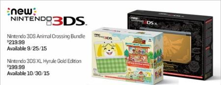 El New Nintendo 3DS normal al fin aparece en América. Y también una edición XL de Zelda