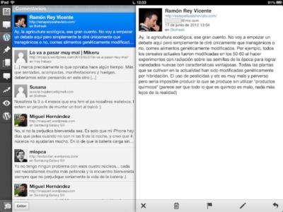 Wordpress para iOS se actualiza centralizando la gestión de comentarios y estrenando notificaciones push