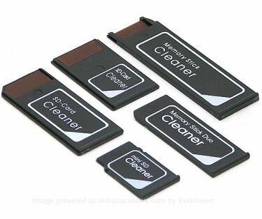 Limpiadores para tarjetas de memoria