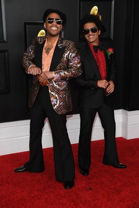 Grammy Awards 2021 Red Carpet Alfombra Roja