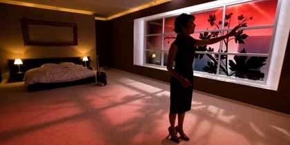 Ventanas de hotel del futuro