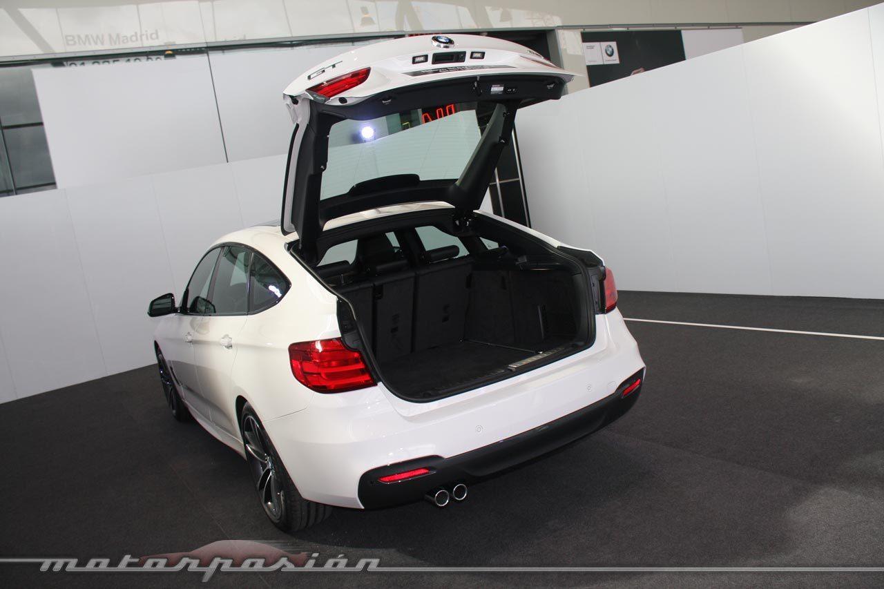 Foto de BMW Serie 3 GT (Presentación estática) (13/43)