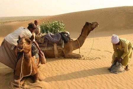 Dormir como un nómada en el desierto del Thar