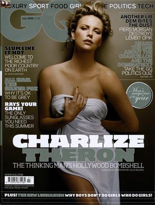 Charlize Theron explosiva en la GQ