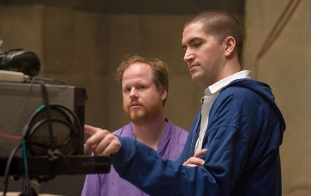 Drew Goddard con Joss Whedon