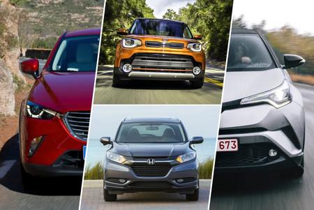 Toyota C-HR vs. Honda HR-V, KIA Soul y Mazda CX-3: analizamos al SUV más funky frente a sus rivales