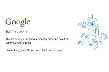 Sí se cayó ayer el servicio de Google ¿Por qué?