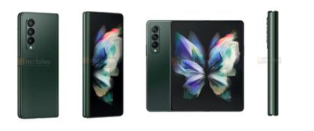 Samsung Galaxy Z Fold 3 Verde 01