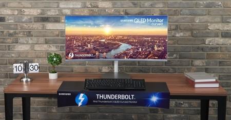 Samsung no abandona la curva y amplía el catálogo de monitores con el Samsung CJ79