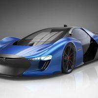 Tesla Model EXP, así podría ser un super deportivo de Tesla en el futuro