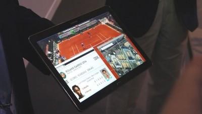 Samsung deja ver una tablet prototipo con resolución 4K