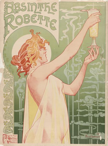 Privat Livemont Absinthe Robette 1896