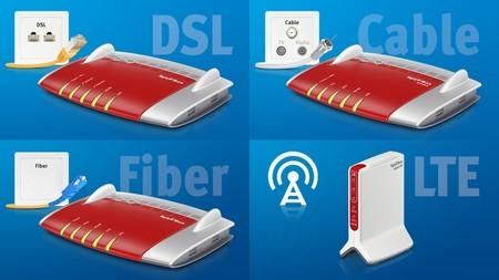 AVM presenta los últimos modelos de sus routers FRITZ!Box en el MWC
