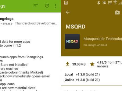 Changelogs te dice las novedades de las últimas actualizaciones de tus aplicaciones