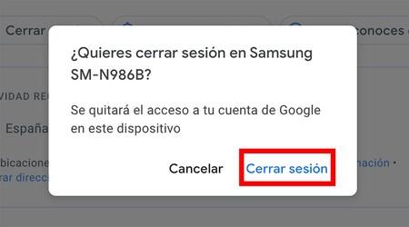 Quitar Cuenta Gmail