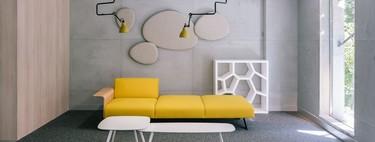 Nueve decorados con efecto de hormigón visto y continuo que desearás ver aplicado en tu propia casa