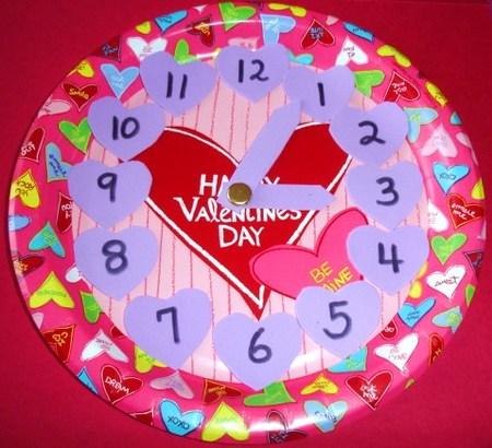 Reloj San Valentin