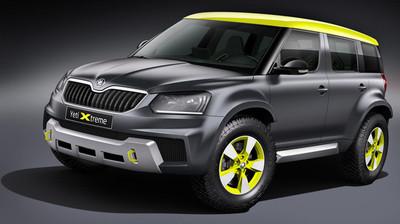 Škoda Yeti Xtreme, también para Wörthersee