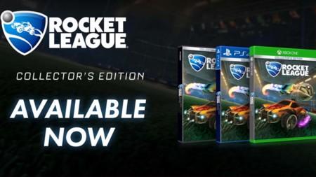 Rocket League cumple su primer año, lanzando su juego en versión física