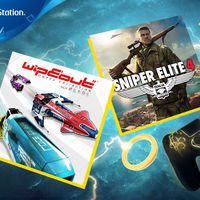 Sniper Elite 4 y WipEout Omega Collection serán los juegos de PlayStation Plus de agosto