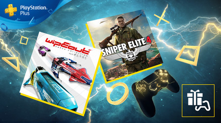Sniper Elite 4 y WipEout Omega Collection serán los juegos de PlayStation Plus de agosto