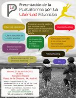 Plataforma por la Libertad Educativa