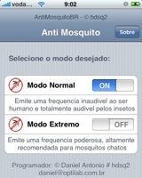 Anti Mosquito para el iPhone. Sí, es lo que parece