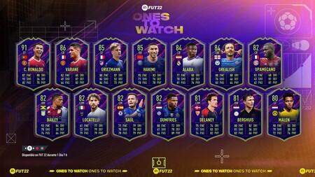 Guía FIFA 22. Ones to Watch, todas las Promesas de FUT22