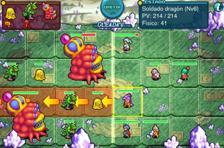 'Crystal Defenders: Vanguard Storm' disponible en iPhone y iPod Touch